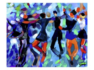 Joyful Dance by Diana Ong, available at art.com